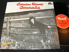 CATERINA VALENTE Edition 6 - Granada / German LP 1987 BEAR FAMILY BFX15296