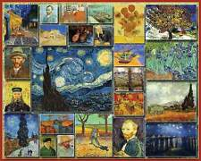 Jigsaw puzzle Art Works of Vincent Van Gogh 1000 pc NEW Made in USA