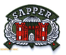 Combat Engineer Vet Patch SAPPER Military Engineering Fort Leonard Wood US ARMY