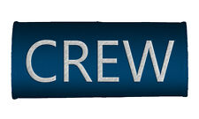 CREW Handle Wraps, CREW LUGGAGE TAGS-BLUE x2