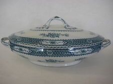 Vintage Warwick Royal Semi-Porcelain Wood & Sons Covered Vegetable Dish (Rare)