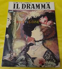 IL DRAMMA 1953 n. 181 - Copertina Brunetta - Opere: vedi inserzione