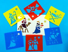 Nativity Stencils Set of 6 AP/175/WSN