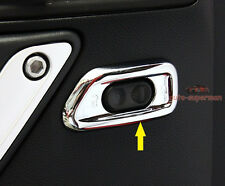 Chrome Door lock switch button Cover Frame trim For Jeep Wrangler JK 2011-2015
