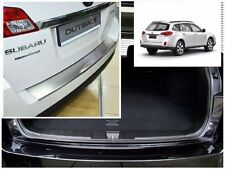 SUBARU OUTBACK IV 2009-2014 Rear Bumper Profiled Protector Stainless Steel Cover