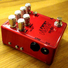 "AmpFister overdrive pedal - handmade - ""Pre-Tone"" feature"