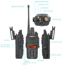 Retevis RT6 Walkie Talkie Waterproof ANTI-DUST VHF+UHF FM Radio Two Way Radios