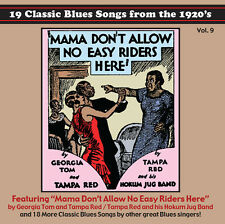 Tefteller's Blues Images Classic Paramount Blues Songs From the 1920's CD Vol. 9