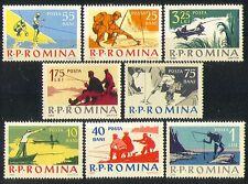 Romania 1962 Fishing/Sports/Fish/Angling 8v set (n32606)