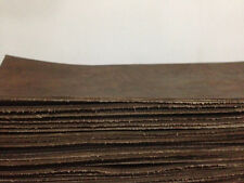 LEATHER BUFFALO LEATHER SHEET LIGHT BROWN 2MM THICK -FOR LEATHER CRAFT
