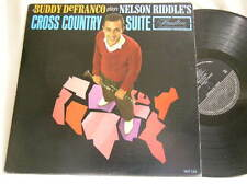 BUDDY DeFRANCO Cross Country Suite Nelson Riddle Don Fagerquist Hamilton mono LP