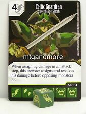 Yu-Gi-Oh Dice Masters - #077 Celtic Guardian - Silverblade Slash - Base Set