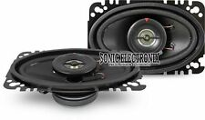 "NEW! Kenwood KFC-4675C 120W 4"" x 6"" 2-Way Coaxial Car Speakers (No Grilles)"