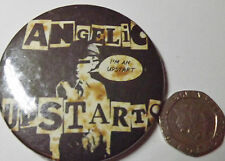"""ANGELIC UPSTARTS Old Vintage Large Button Pin Badge(55mm-2.25"""")Oi! Skinhead Punk"""