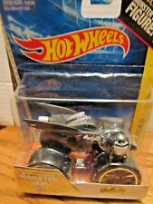 BATMAN With TRACK ACE TIRES Hot Wheels MONSTER JAM with FIGURE #21