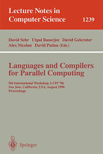 Languages and Compilers for Parallel Computing: 9th International Workshop, LCPC