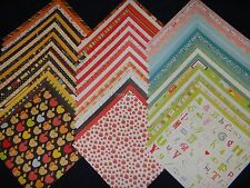 12X12 Scrapbook Paper Back To School Days Stack DCWV Student Teacher Kids 60 Lot