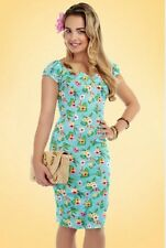 collectif hawaian dolores dress size 14