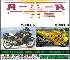 kit adesivi stickers compatibili  freccia c 10 r 1988