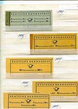 BRD - Markenhefte - aus Nr. 3 - 22 ** - KW 232 ,-- €  ( 33533 )