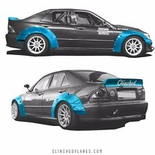 Clinched Lexus IS300 & Toyota Altezza widebody kit