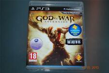 God of War Ascension PS3 Playstation 3 **FREE UK POSTAGE**