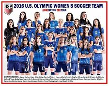 2016 U.S. OLYMPIC WOMEN'S SOCCER TEAM COMMEMORATIVE POSTER