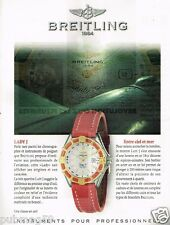 Publicité advertising 1997 La Montre Lady J Breitling