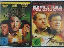 Krieg Sammlung - Die Kanonen - Der wilde Haufen von Navarone - A. Quinn, H. Ford