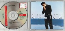 RICKY MARTIN CD single 4 tracce MADE in AUSTRIA  Vuelve