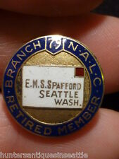 nalc 10k gold national association of letter carriers nice enamel
