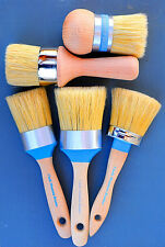 Chalk furniture paint brush kit Ultimate boar bristle brush pro kit. 5 brushes