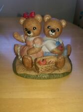 Teddy Bears Picnic Ceramic/Porcelain Home Interiors & Gifts