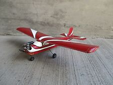 "LARGE Vintage Radio Remote Control Model Airplane w/ 56"" Wing Span"