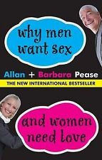 Barbara Pease, Allan Pease Why Men Want Sex and Women Need Love Very Good Book