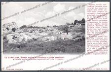 SIRACUSA CITTÀ Cartolina 22. Serie CASA DEI VIAGGIATORI