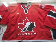 2002 Women's Olympic Team Canada SIGNED (Autographed) jersey. Gold Medal team
