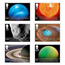 UK Space Science stamp set MNH 2012