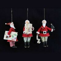 Gisela Graham Santa Father Christmas Hanging Christmas Tree Decoration 10413