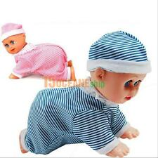 Cute Crawling Baby Electric Doll Toy Laugh Music Dance talking Funny Baby Doll