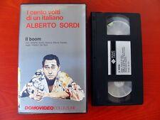VHS.11) IL BOOM - DOMOVIDEO COLLEZIONE (ALBERTO SORDI)