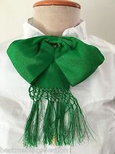Mexican Charro Moño Bow Tie Green Verde Mexicano Handcrafted