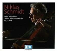 Bach: Six Suites for Unaccompanied Cello, Nos. 1, 3 & 6 (CD, Aug-2014,...