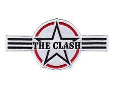 OFFICIAL LICENSED - THE CLASH - AIR FORCE LOGO WOVEN SEW-ON PATCH PUNK STRUMMER