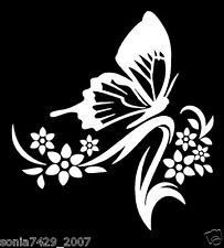 BUTTERFLY TRIBAL ~ Window WALL DECAL * Vinyl Car STICKER * Die Cut  Truck Car
