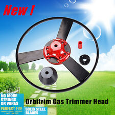 New Orbitrim Gas Trimmer Head No String Wires Cleaning Garden Home As Seen On TV