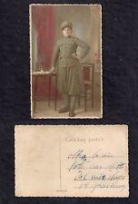 Old Photo Foto Cartolina Uniforme Fregio Sanità Militare Regio Esercito