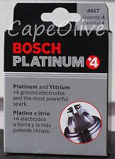 4 PCS - Bosch 4417 Platinum+4 Spark Plugs (FGR7DQP)