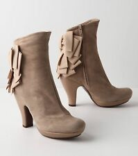 ANTHROPOLOGIE UNTIL WE MEET AGAIN BOOTIES CHIE MIHARA SHOES BOW ANKLE BOOTS $475