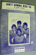 The RIBBONS R&B Sheet Music AIN'T GONNA KISS YA 60's GIRL GROUP DOO WOP SOUL